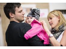 Baby & Barn 2014: Klart att bebisen ska ha en zebrarandig mössa