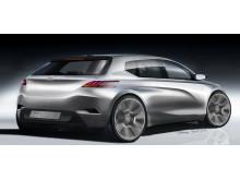 Nya Peugeot 308 på Frankfurt Motor Show