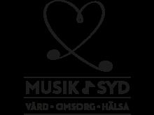 Logotype Musik i vård, omsorg och hälsa