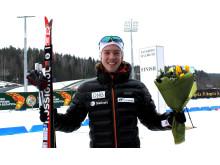 Jonas Uglem Mobakken, blomsterseremoni, sprint ungdom menn, Junior-VM, Minsk