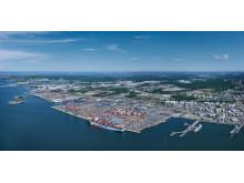 The Port of Gothenburg.