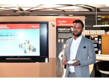 Nikola Nikolic vom StartUp-Center der Stadtsparkasse München hielt einen Impulsvortrag zu Fragen der Finanzierung einer Unternehmensgründung.