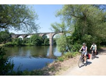 Paar Ruhrviadukt