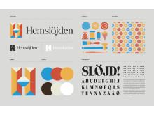 Logotyp, typsnitt, färger