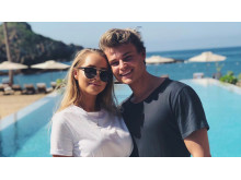 Martine og Aleksander fra Paradise Hotel