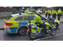 Officers from units across the Met took part in the operation