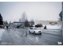 Nytt parkeringshus utmed Järnvägsallén