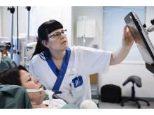 Ögonstyrning ska förbättra kommunikationen med svårt brännskadade patienter