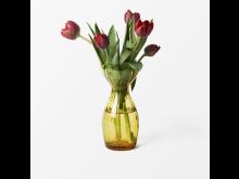 Svenskt_Tenn_Vase_Iris_Glass_Amber_24cm_2