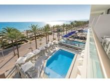 allsun Hotel Riviera Playa Pool Meerblick