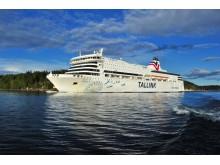 Die Victoria I auf dem Weg von Tallinn nach Stockholm