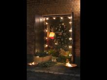 Julstuga i Lusknäppen