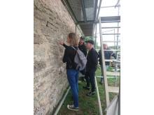 Experter på plats vid St Knuts kapell