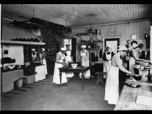 Benninge Lanthushållsskola 1910