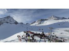 SportScheck GletscherTestival Wintersportauftakt