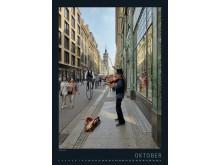 """Fotokalender """"Fantastisches Leipzig"""" 2019 - Oktober Vorderseite"""