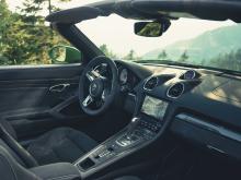 Porsche 718 Boxster GTS 4.0 med PDK dubbelkopplingsväxellåda.