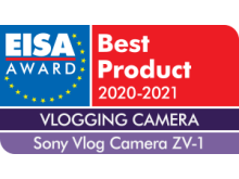 EISA Award Sony Vlog Camera ZV-1