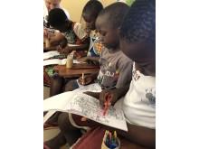 SOS barnbyar i Togo.