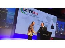 Mark greets Indonesian Ambassador