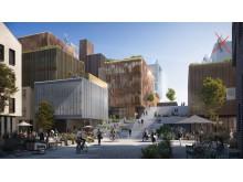 Visionsbild av GoCo Health Innovation City
