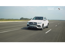 The Mercedes GLE was the overall highest scorer in the new gradings