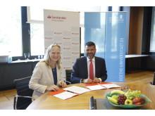 Vertragsverlängerung mit der Goethe-Universität Frankfurt