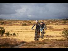 Naturlige sykkelstier