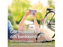 Gör mobilen till ditt bankkontor