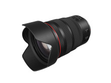 RF 24-70mm F2.8L IS USM_Front_Slant_with_hood