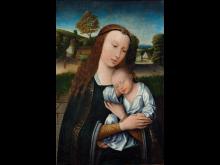Ubekendt kunstner, Madonna med Barnet, ca. 1520. Nivaagaards Malerisamling.jpg