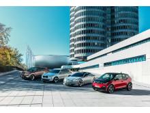 BMW iNEXT, BMW iX3, BWM i4 og BMW i3s