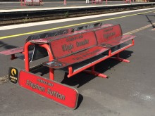 Some of the Virgin Trains nameplates up for grabs