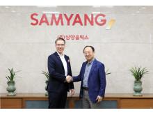 WALSER besucht SAMYANG im koreanischen Headquarter