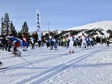 Skidfest även för sponsorerna