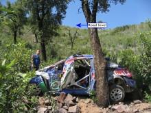 En något omtumlad Ford Focus RS WRC