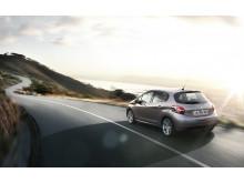 Peugeot leder loppet mot låga koldioxidutsläpp - Peugeot 208