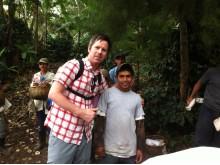 Vi besöker skolan i La Cumplida