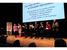 Prisgalan: Vinnarna av Umeå novellpris 2013