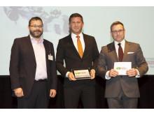 Europäischer Transportpreis für Nachhaltigkeit für BPW