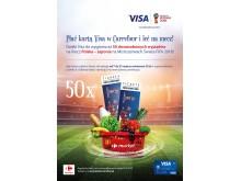 Loteria Carrefour FIFA - plakat supermarket