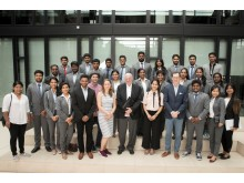 Besuch MBA-Studierende