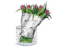 Ge tulpanerna stöd