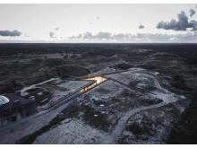 Tirpitzmuseet på Danmarks västkust, ritat av Bjarke Ingels Group, BIG, är ett av 134 projekt som kan vinna Nordic Architecture Fair Award