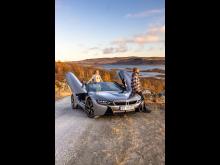 BMW i8 i Norge