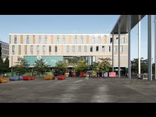 Riem Arcaden in Munich – view of the new Motel One
