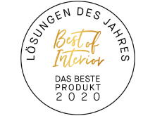 Siegel Best of Interior Award - Das beste Produkt 2020_Callwey_burgbad_03