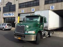 Truck docking at New York JFK gateway