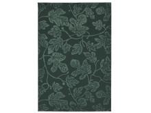HILDIGARD tæppe, kort luv 133x195 cm grøn 299.-