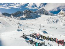 Bei besten Bedingungen startet das 31. SportScheck GletscherTestival